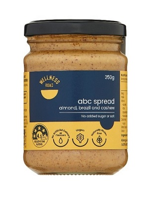 Coles Wellness Road ABC Spread 250g